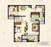 美岸观邸2室2厅1卫92平方米户型图