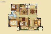 高科荣境4室2厅2卫142平方米户型图