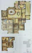 尚品半岛4室2厅3卫176平方米户型图