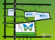 曲江城市花园二期誉峰交通图