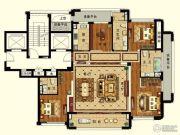 长峙岛・香芸园4室2厅3卫183平方米户型图