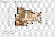 希望・玫瑰园3室2厅2卫114平方米户型图