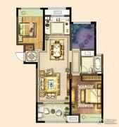 港龙新港城2室2厅1卫104平方米户型图