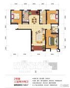 绿地泉景嘉园3室2厅2卫140平方米户型图