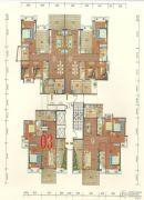 碧海园2室2厅1卫90--100平方米户型图