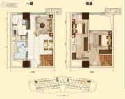 翠湖大厦2室2厅1卫0平方米户型图