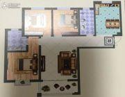 远达锦绣半岛3室2厅2卫127平方米户型图