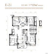 滨江旭辉・万家之星4室2厅2卫0平方米户型图