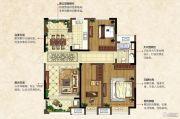 中南锦城3室2厅1卫111平方米户型图