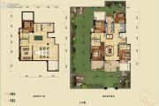 蓝光公园悦府0室0厅0卫272平方米户型图