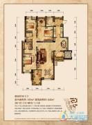 润丰水尚3室2厅2卫145平方米户型图
