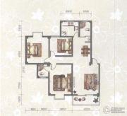 东苑小区3室2厅2卫117平方米户型图