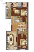 强佑・府学上院3室2厅2卫180平方米户型图