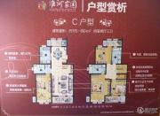 叶与城4室2厅3卫170--190平方米户型图