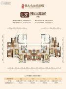 长沙恒大文化旅游城0平方米户型图