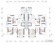 海逸一号5室2厅3卫233平方米户型图