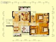 世界钰园3室2厅2卫119平方米户型图