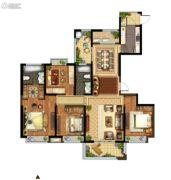 光明领御4室2厅2卫172平方米户型图