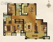 梅香雅舍3室2厅2卫143平方米户型图