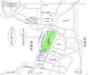 碧海蓝天台湾城交通图