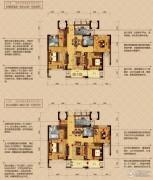 顺发吉祥半岛3室2厅2卫107平方米户型图