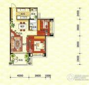 明智银华花园3室2厅2卫0平方米户型图