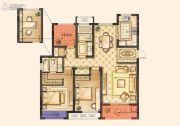 红豆香江豪庭3室2厅2卫119平方米户型图