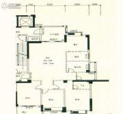 星湖城4室2厅2卫169平方米户型图