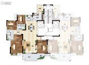 长江国际广场4室2厅2卫173平方米户型图