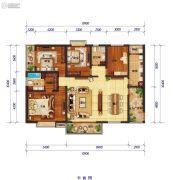 怡景尚居4室2厅2卫193平方米户型图