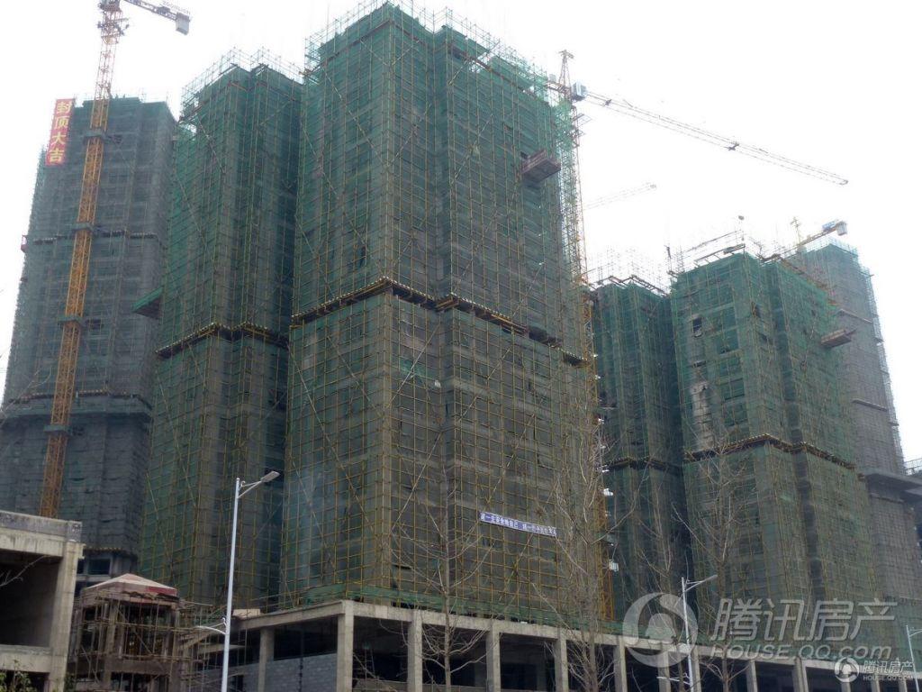 景秀黔城实景图(2013年12月底)