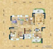 精通・伊顿国际3室2厅2卫137平方米户型图