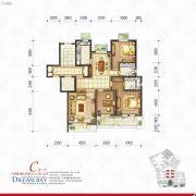 丽汤・首山梦之湾3室2厅2卫146平方米户型图