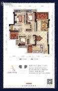 新鸥鹏教育城3室2厅2卫105平方米户型图