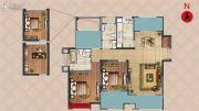 弘阳上湖2室2厅2卫114平方米户型图
