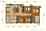 保利锦湖林语4室2厅2卫126平方米户型图