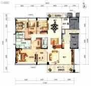 顺德华侨城・天鹅湖5室2厅3卫264平方米户型图