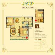 黄桥佳源广场 高层2室1厅1卫88平方米户型图