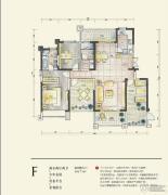 蓝鼎星河府2室2厅2卫162平方米户型图