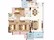 乐观3室2厅2卫102--104平方米户型图
