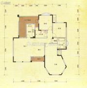 东方威尼斯澜庭3室2厅2卫141平方米户型图
