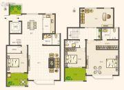 圣亚・绿溪园4室2厅3卫254平方米户型图