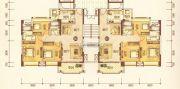 澳华新城3室2厅2卫104平方米户型图