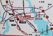 广联蓝爵花园交通图