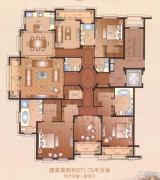 运河一品4室4厅4卫271平方米户型图