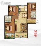 鑫源一品3室2厅2卫119平方米户型图