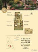 国祯广场140--142平方米户型图