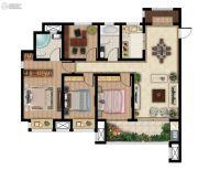 广汇・金色华府3室2厅2卫134平方米户型图