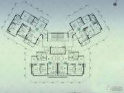 嘉华星际湾3室2厅2卫0平方米户型图