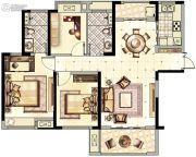 阳光城・青山湖大境3室2厅2卫116平方米户型图